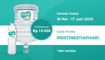Promo potongan Rp10.000 (18 Mei - 17 Juni 2020)