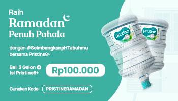 Seimbangkan pH Tubuhmu untuk #RamadanPenuhPahala bersama Pristine8+