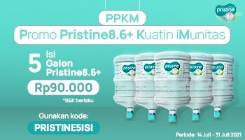 PPKM ( Promo Pristine8.6+ Kuatin iMunitas )