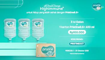 Pristine8.6+ October Promo